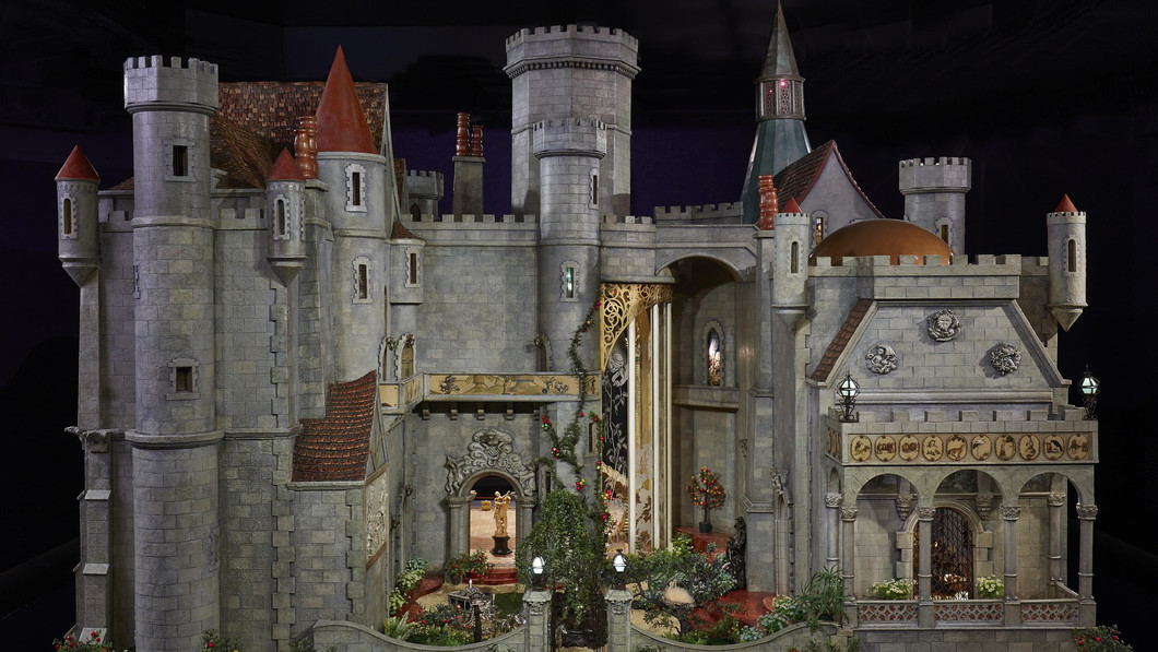 Exterior of Colleen Moore's Fairy Castle.