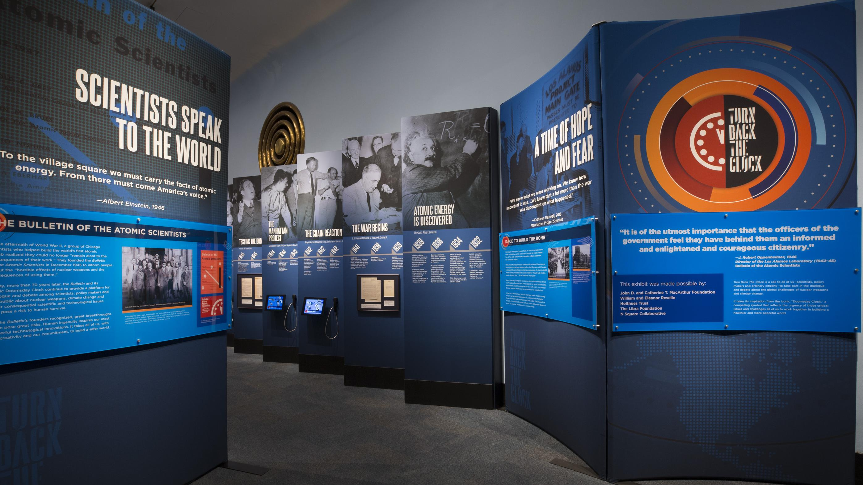 Turn Back the Clock - Museum of Science and Industry