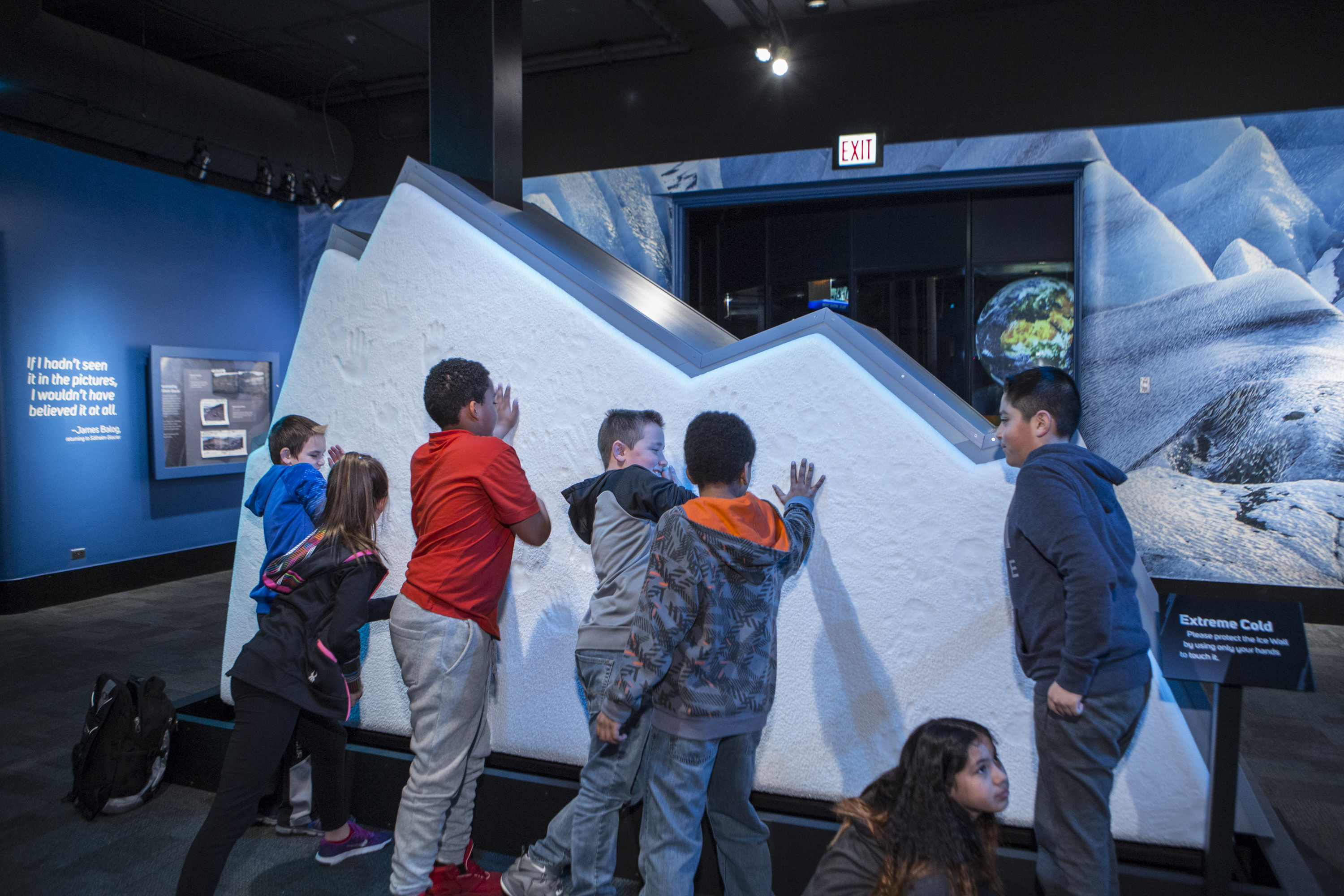Extreme Ice Museum Of Science And Industry