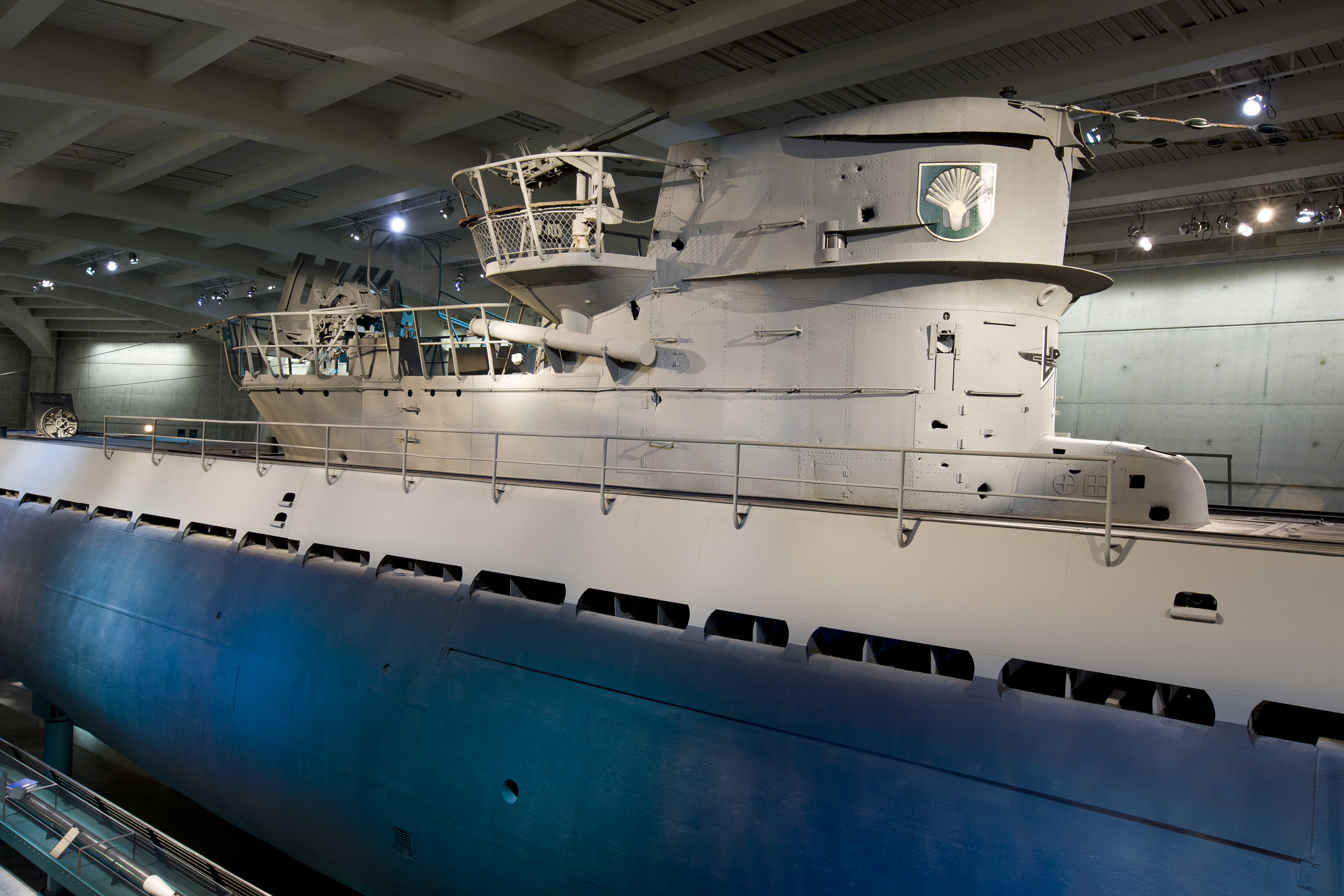 U Submarine Museum Of Science And Industry - German museums in usa